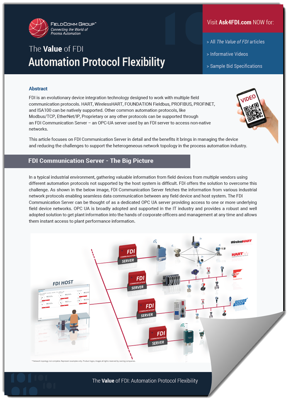 The Value of FDI: Automation Protocol Flexibility -