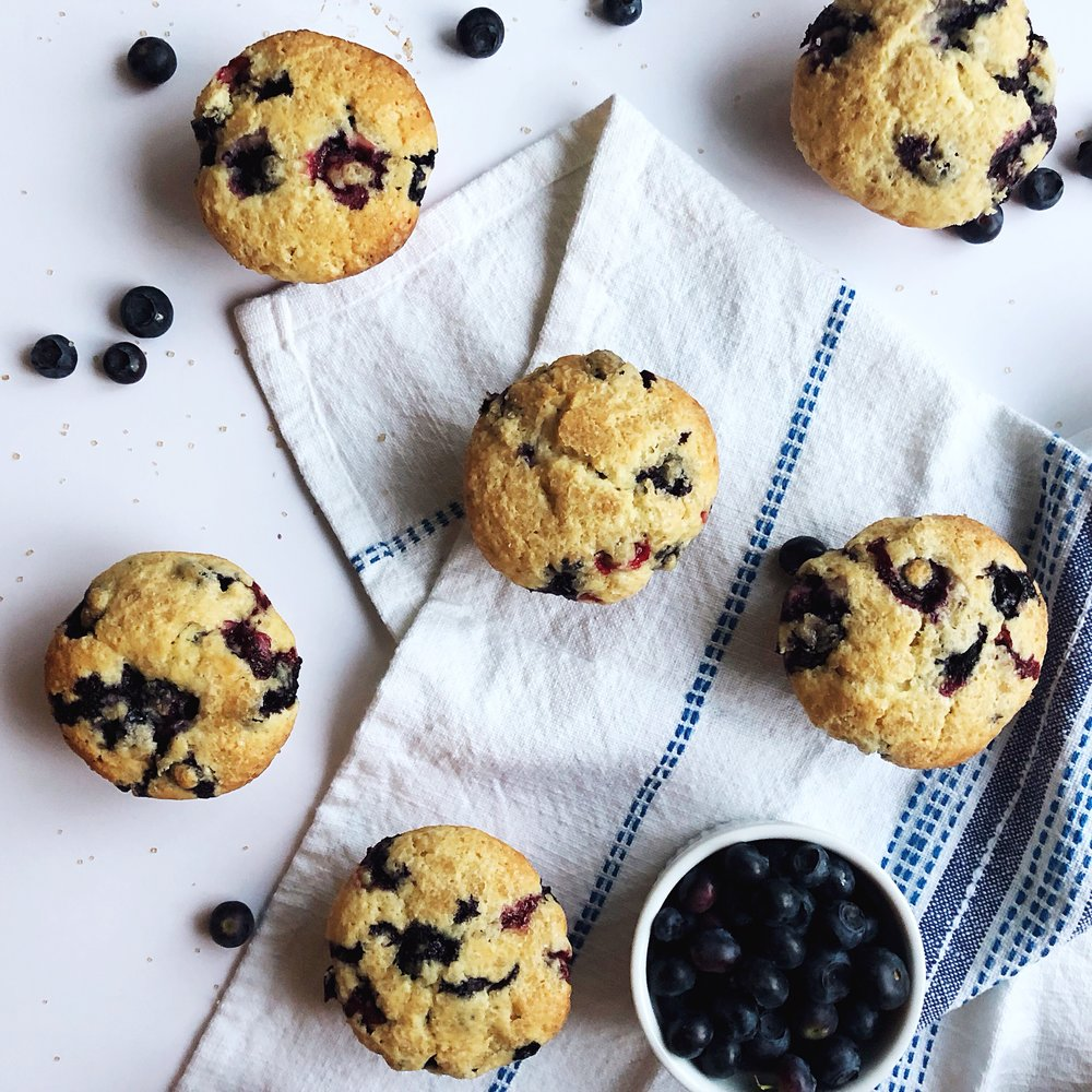 Breakfast favorite - These were packed with berries, and oh so scrumptious with my morning coffee!