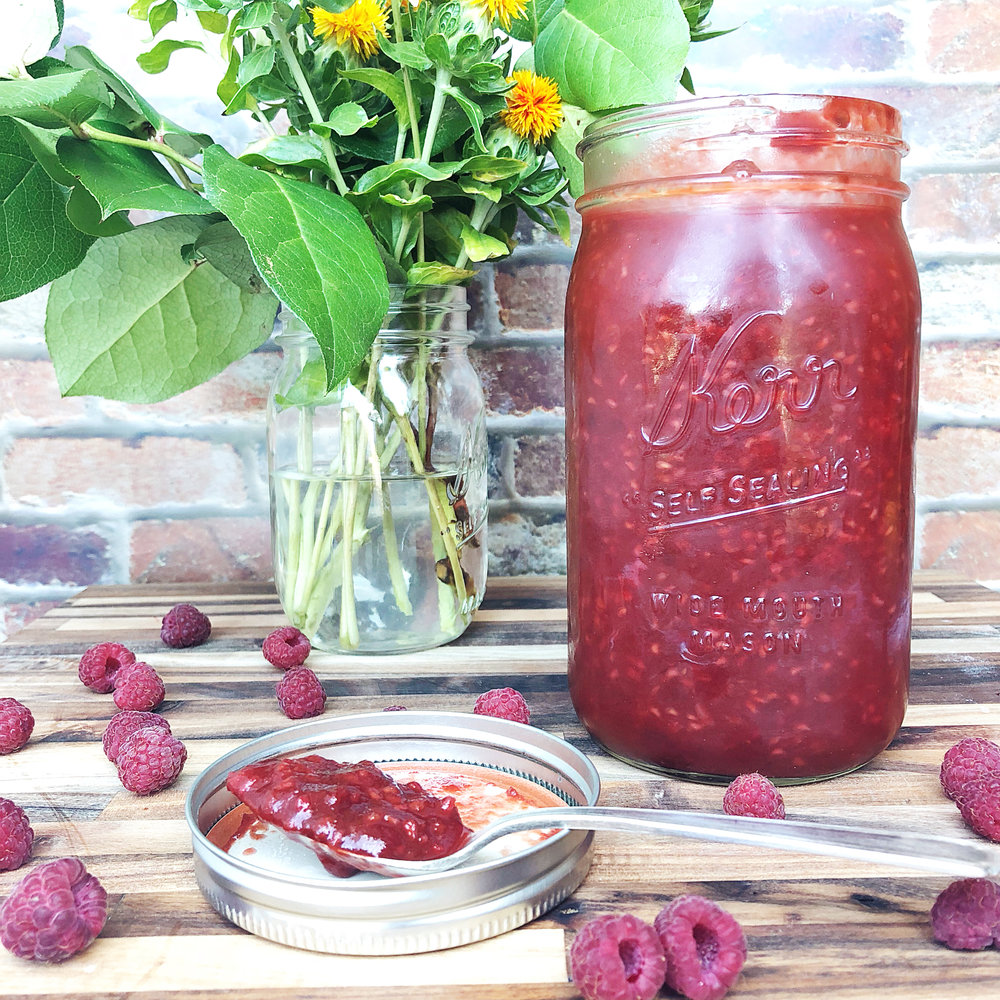 Fire up the grill! - Raspberry Chipotle BBQ sauce, YUM!