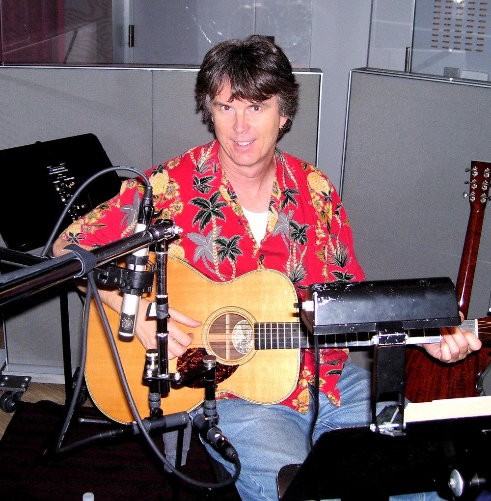 John Goux, guitar