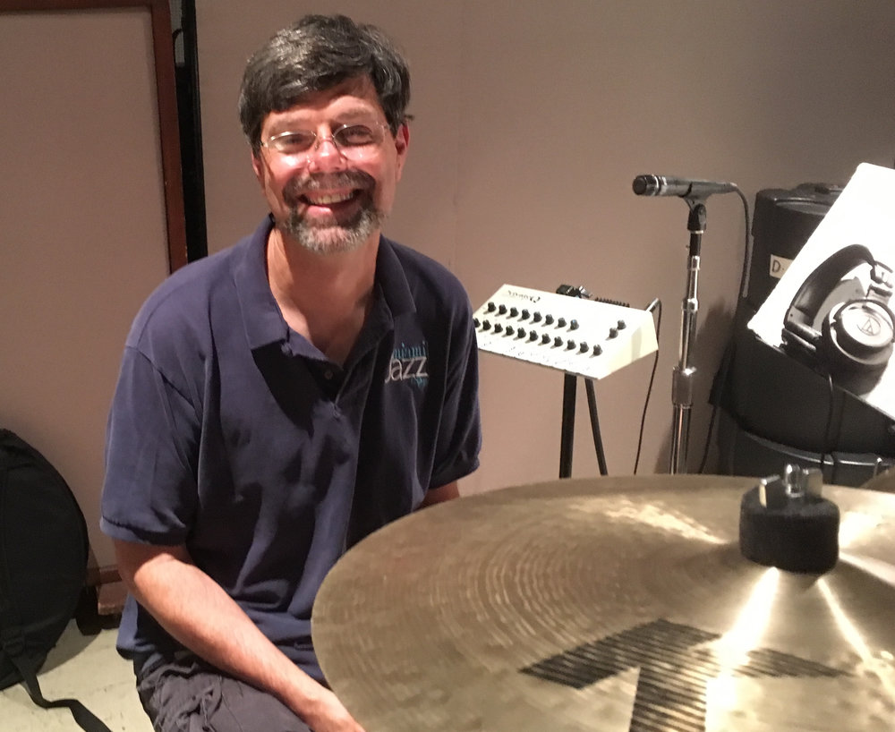 Dave Tull, drums, at East West