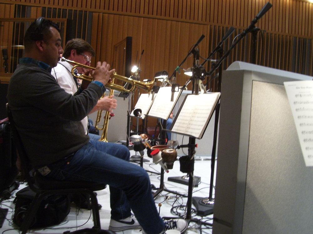 Gordon Goodwin's BPB, trumpets