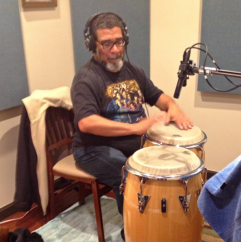Lenny Castro, percussionist extraordinaire