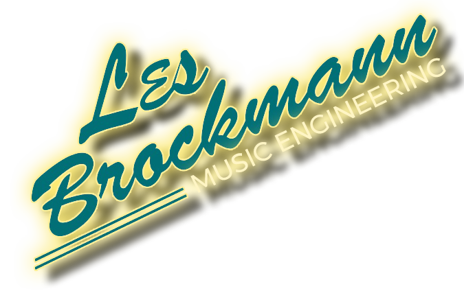 Les Brockmann Music Engineering I Recording Engineering, Score Mixing & Consulting
