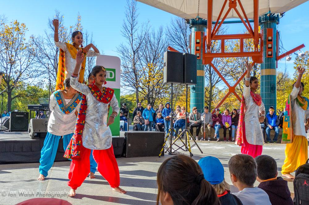 Dancers at Culture Days