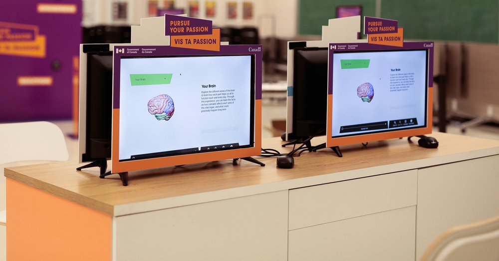 360 Brain on computer screen