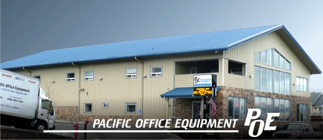 Pacific Office Equipment, located at 314 E 8th St, Port Angeles, WA