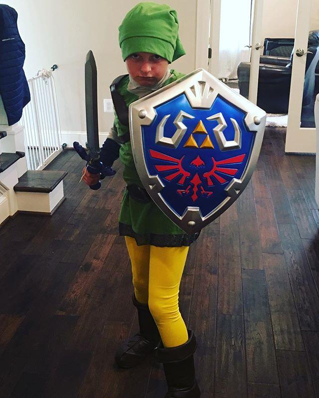 Link from Zelda.  Boom.