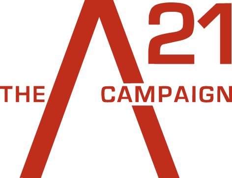 A21's mission is to end slavery. - We are a nonprofit organization fueled by radical hope that human beings everywhere will be rescued from bondage and completely restored. We are the abolitionists of the 21st century. We work with you to free slaves and disrupt the demand.