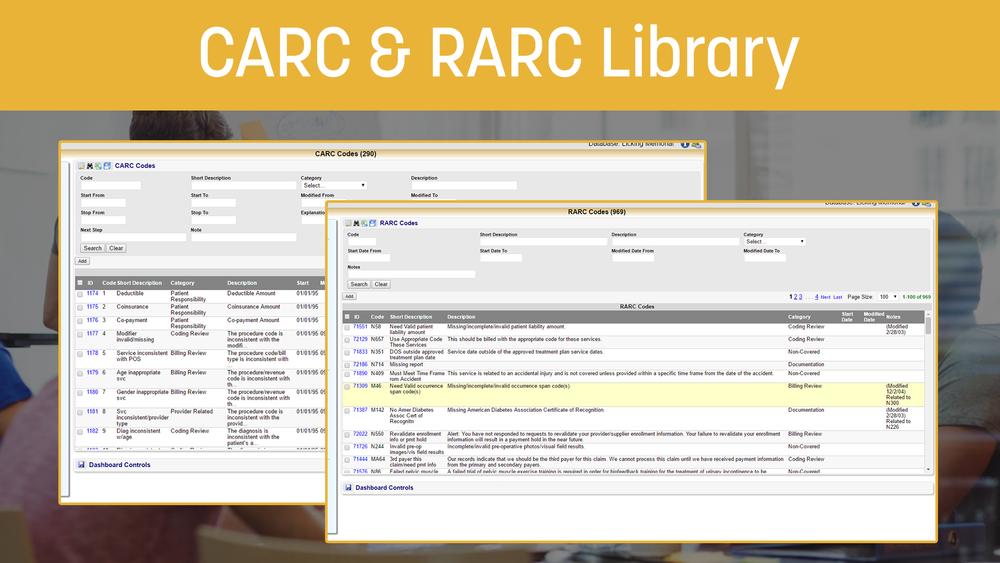 CARC & RARC Library