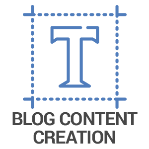 Blog Content Creation Icon