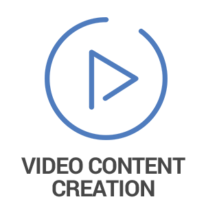Video Content Creation Icon