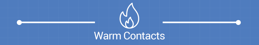 Email Campaign Production Warm Contacts Banner