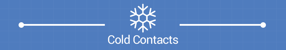 Email Campaign Product Cold Contacts Banner