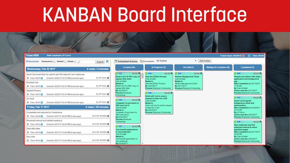 KANBAN Board Interface