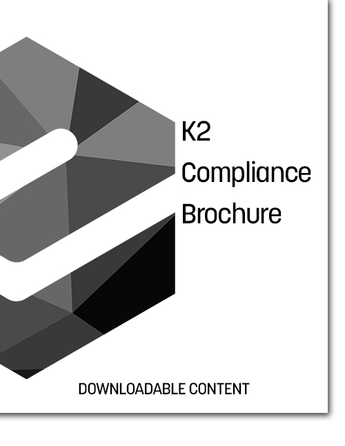 K2 Compliance Brochure Cover