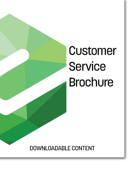 Etactics Customer Service Brochure Cover