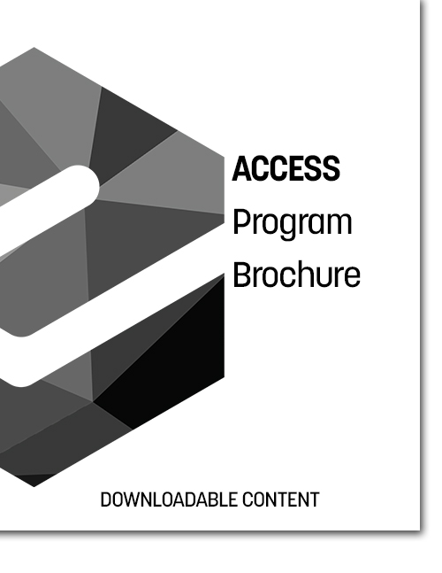ACCESS Program Brochure Cover