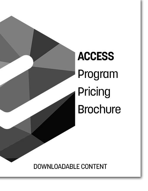 ACCESS Program Pricing Brochure Cover