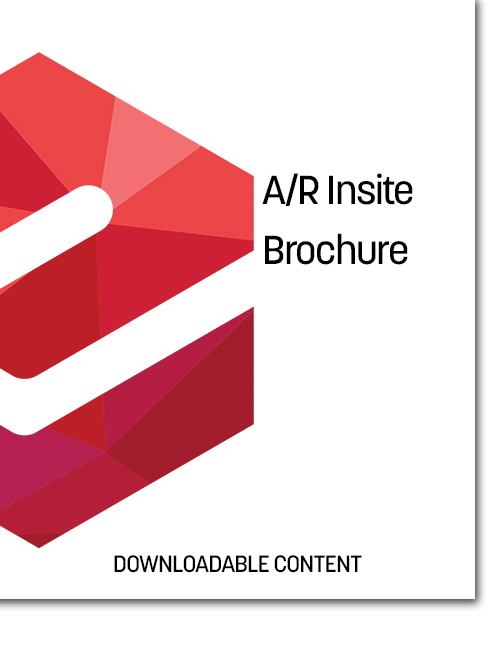 A/R Insite Brochure Cover
