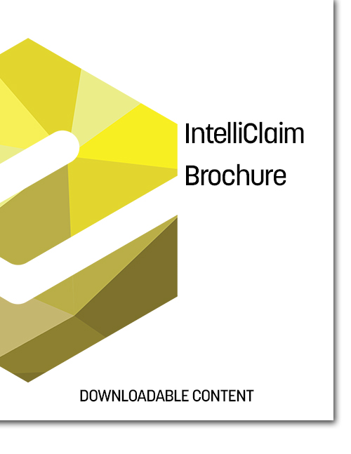 IntelliClaim Brochure Cover