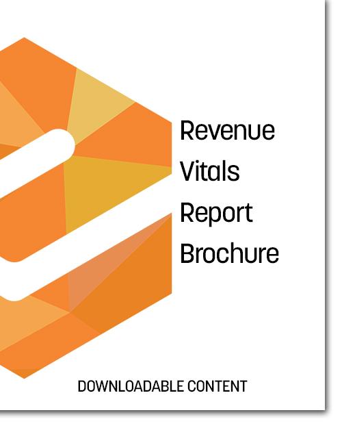 Revenue Vitals Report Brochure Cover