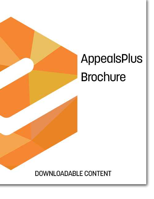 AppealsPlus Brochure Cover