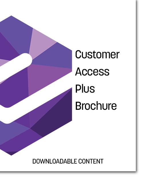 Customer Access Plus (CAP) Brochure Cover