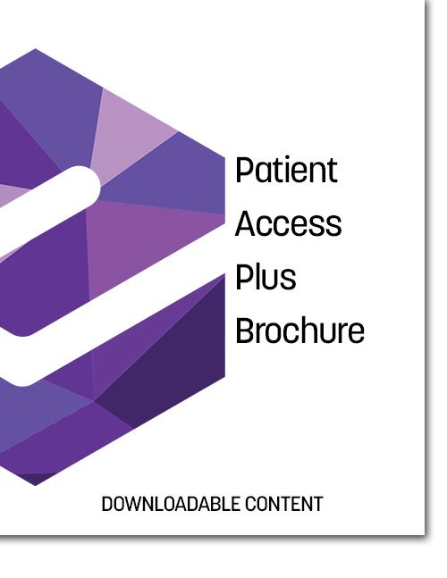 Patient Access Plus (PAP) Brochure Cover