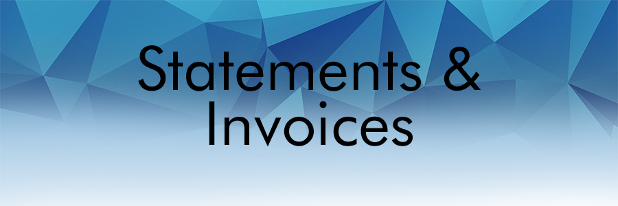 Etactics' Statements & Invoice Management Solution