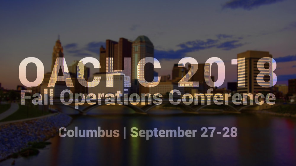 Etactics will be at the 2018 OACHC Fall Operations Conference