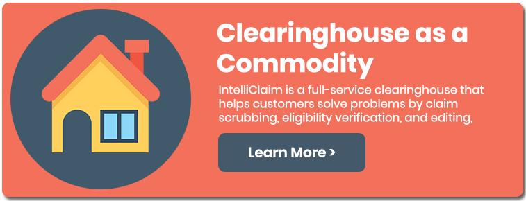 IntelliClaim is a full-service clearinghouse that helps customers solve problems by claim scrubbing, eligibility verification, and editing.