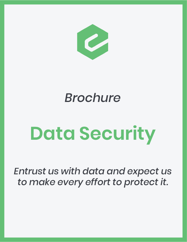 Entrust us with data and expect us to make every effort to protect it.