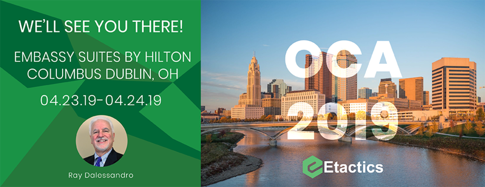 Join Etactics' regional sales manager, Ray Dalessandro, at the 2019 Ohio Children's Alliance Conference.