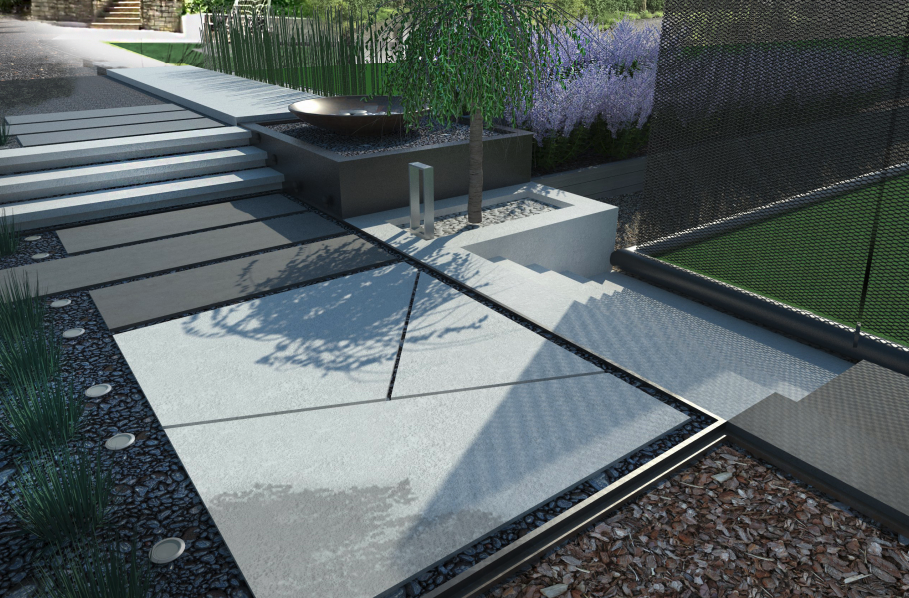 Hardscape and Pathways Only