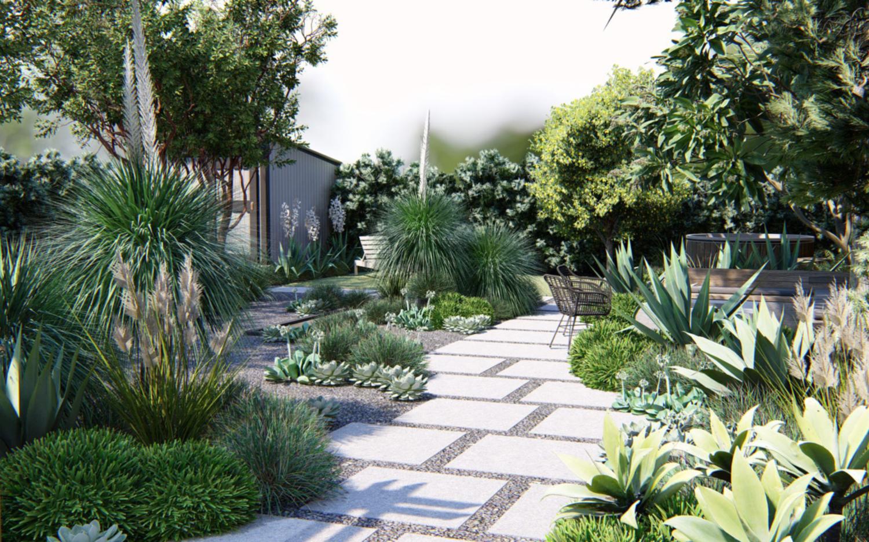 Outdoor Oasis In Oakland Yardzen Online Landscape Design