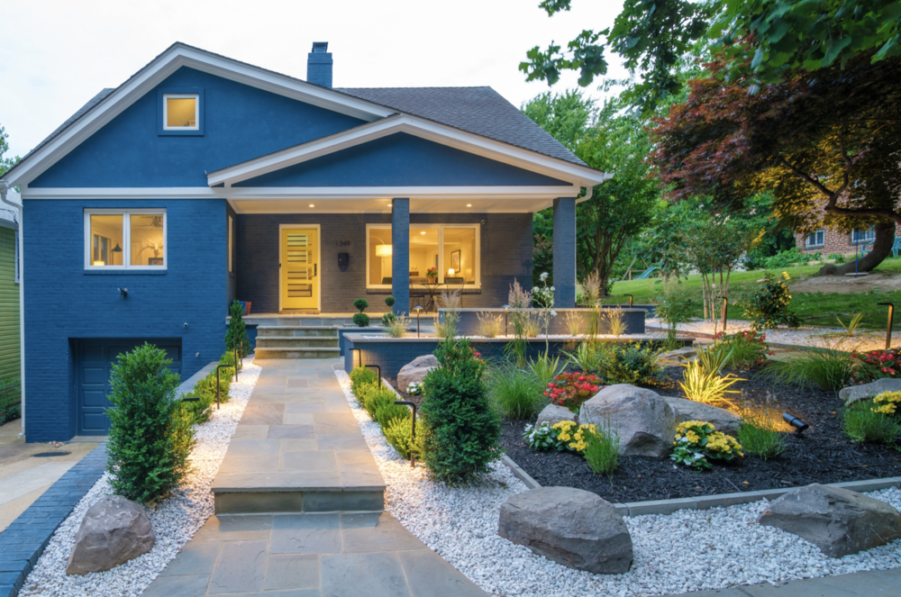 Gravel Landscape Design Ideas Yardzen Online Landscape Design
