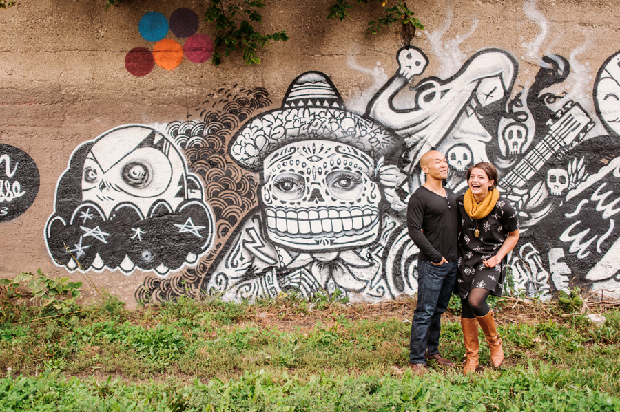 Pilsen Neighborhood Chicago Engagement Session by Two Birds Photography 07