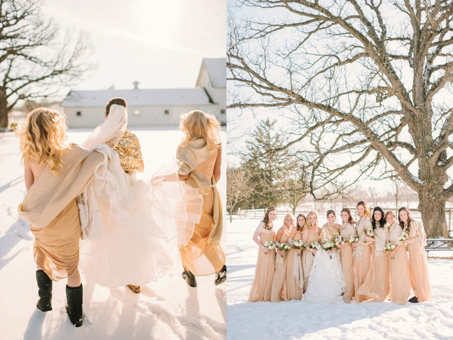 Christmas Winter Wedding by Two Birds Photography08