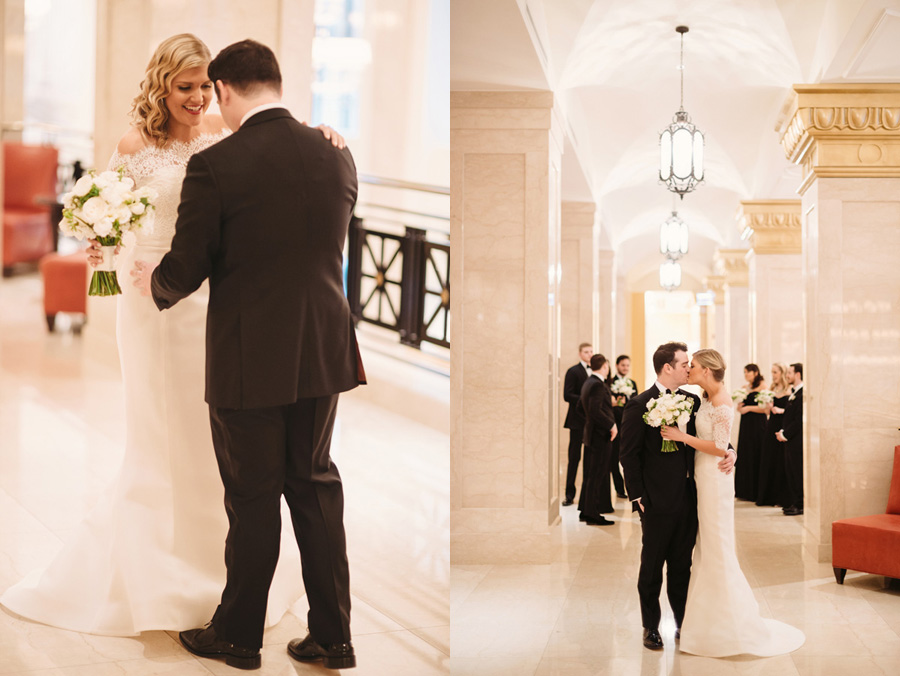 Chicago Wedding at the Rookery by Two Birds Photography 013