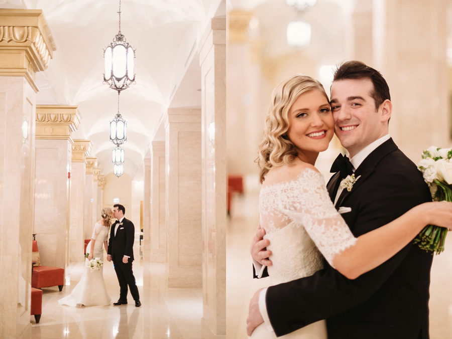 Chicago Wedding at the Rookery by Two Birds Photography 014