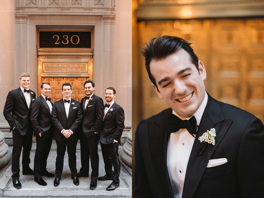 Chicago Wedding at the Rookery by Two Birds Photography 017