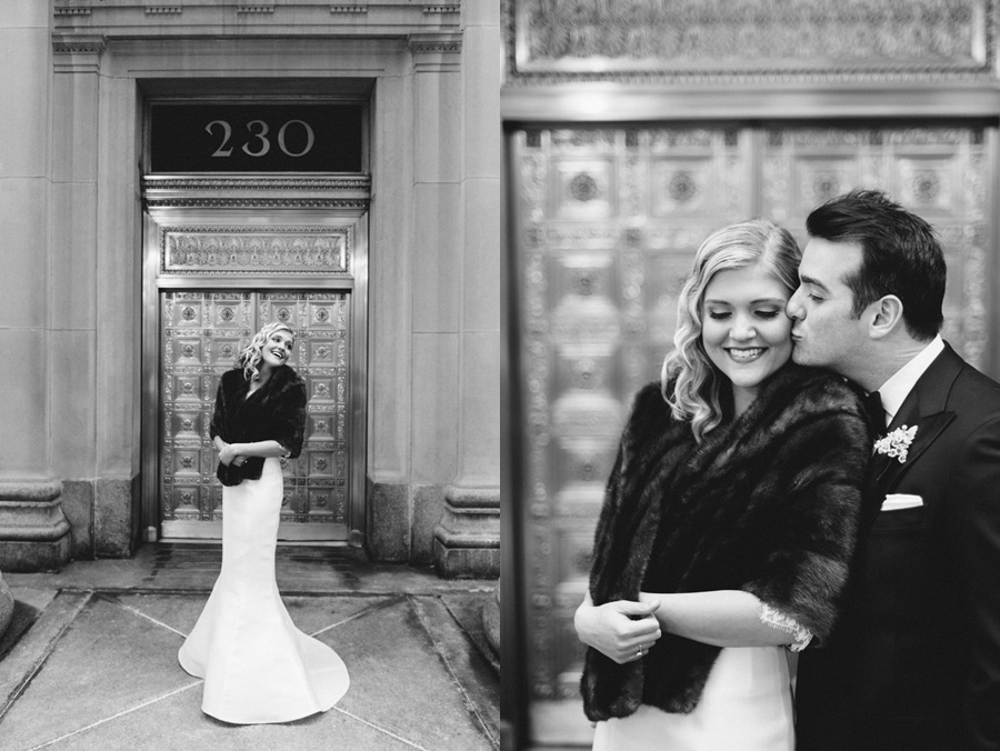 Chicago Wedding at the Rookery by Two Birds Photography 021