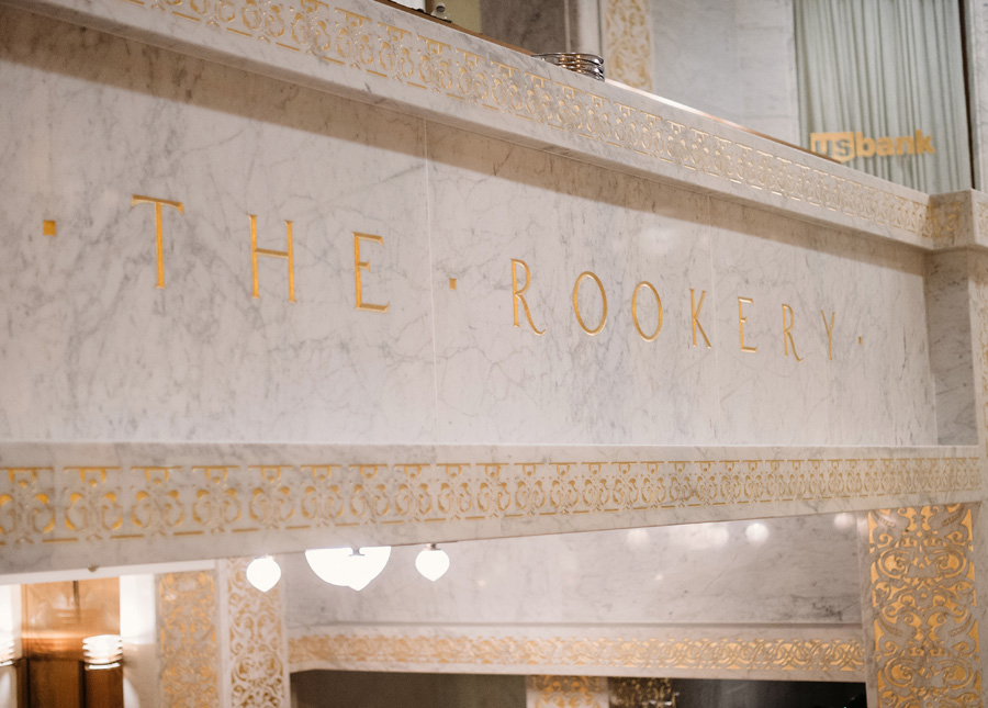 Chicago Wedding at the Rookery by Two Birds Photography 022