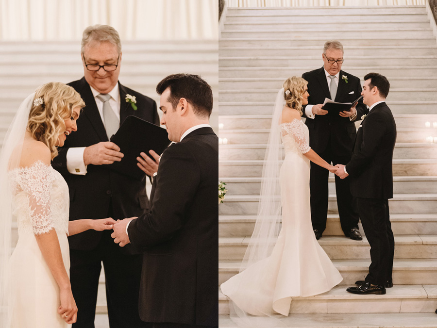 Chicago Wedding at the Rookery by Two Birds Photography 032