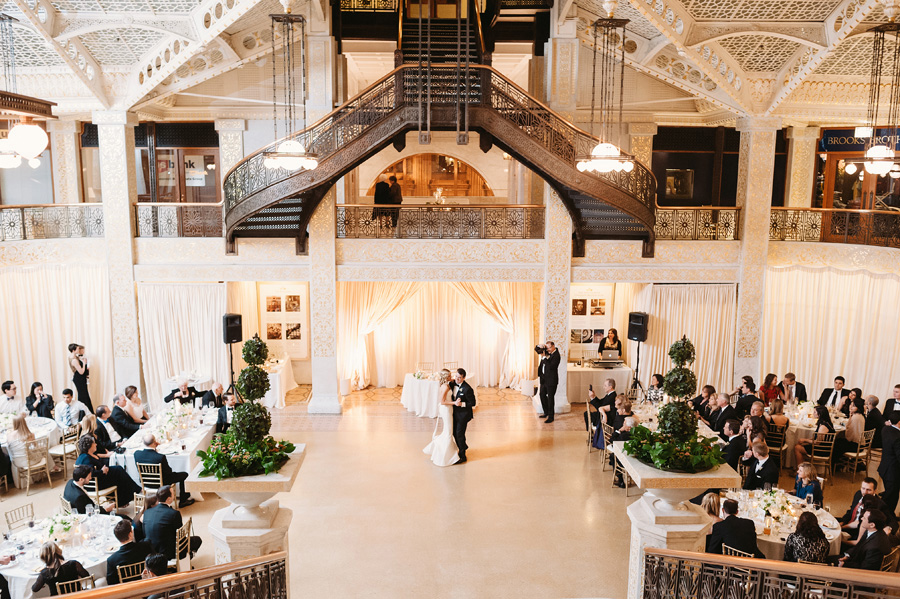 Chicago Wedding at the Rookery by Two Birds Photography 042
