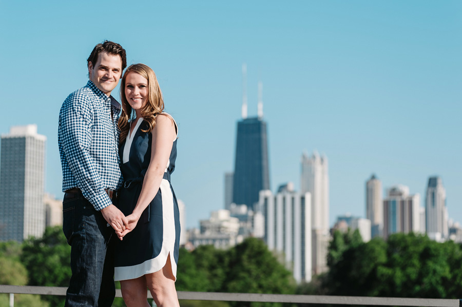Chicago Lincoln Park Engagement Session by Two Birds Photography 01