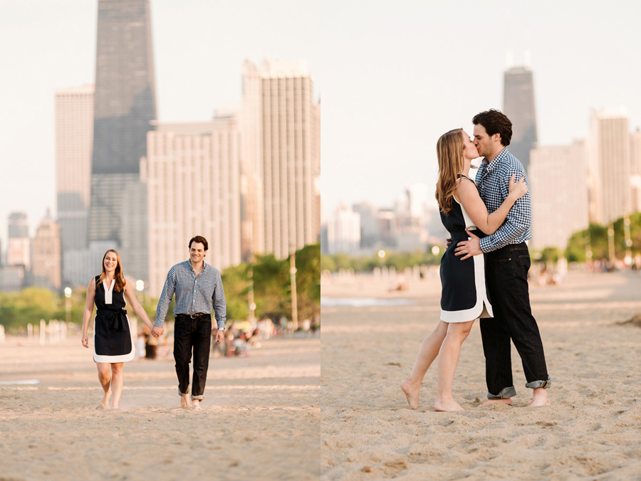 Chicago Lincoln Park Engagement Session by Two Birds Photography 17