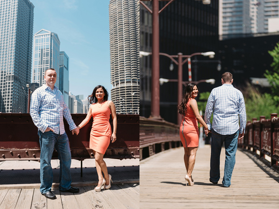 Chicago Multi Cultural Wedding Engagement by Two Birds Photography 06