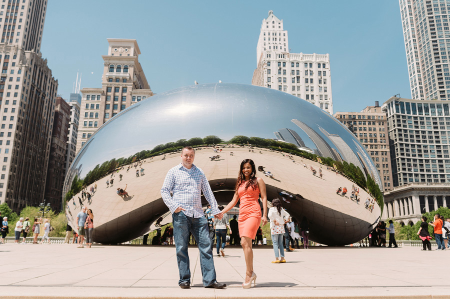 Chicago Multi Cultural Wedding Engagement by Two Birds Photography 08